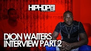 NBA Star Dion Waiters Talks Allen Iverson, Philly Rap, Fatherhood & More With HHS1987