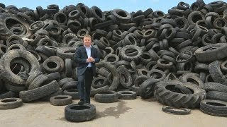 Recycling tyres: road to success - business planet