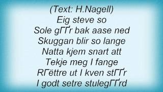Storm - Nagellstev Lyrics