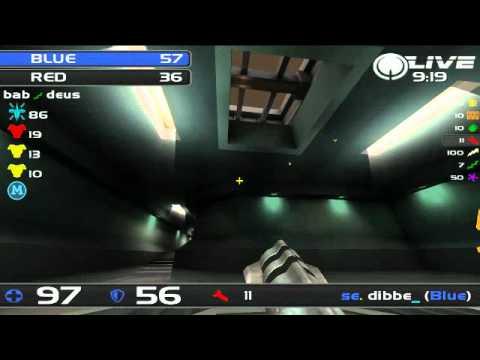 ESL CC Bronze Final - UK vs Sweden - Part 1 - Quake Live TDM