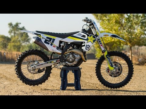 Racer X Films: 2018 Husqvarna Rockstar Factory Edition FC 450 First Impression
