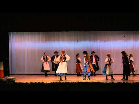 2012 POLANIE Song & Dance Ensemble dance rzeszowski