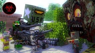 Monster School - GIANT ZOMBIE APOCALYPSE CHALLENGE - Minecraft Animation