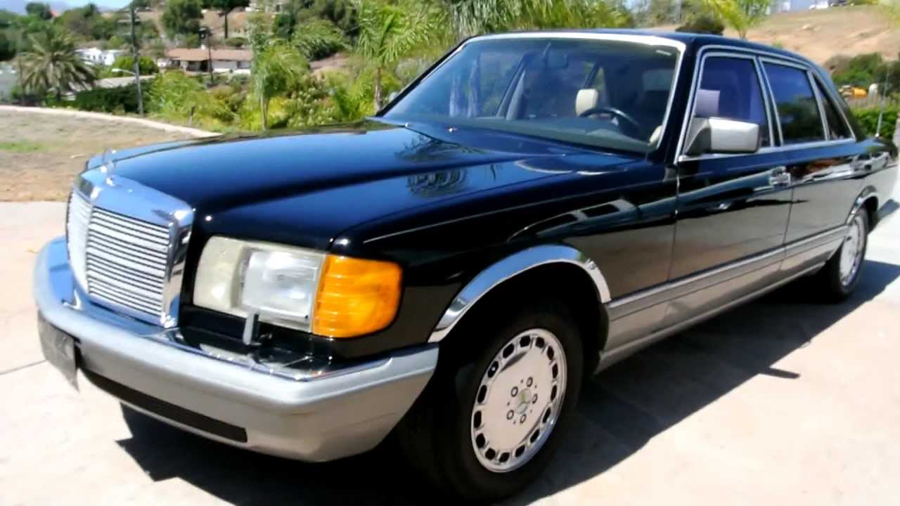 1986 Mercedes Benz 560sel 1 Owner W126 Sedan For Sale Export Import Youngtimer Youtube
