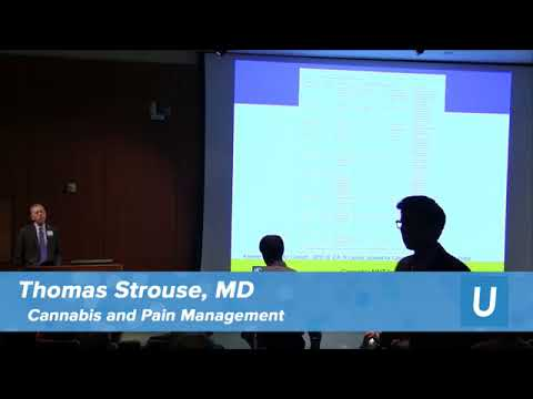 Cannabis & Pain Management Thomas Strouse, MD | UCLA Health Cannabis Research Initiative