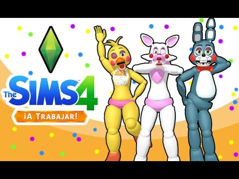 Five Nights at Freddy's   Los Sims 4 a Trabajar!   TIENDA COSPLAY