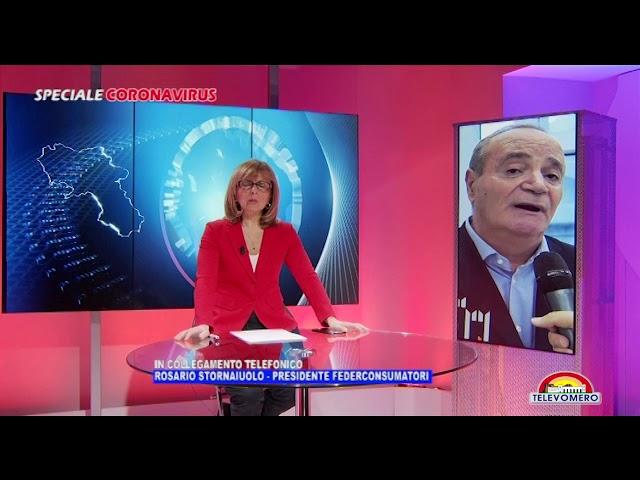SPECIALE CORONAVIRUS  INTERVISTA A ROSARIO STORNAIUOLO PRESIDENTE FEDERCOSUMATORI