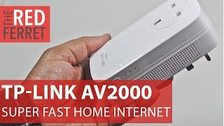 TP-Link AV2000 Powerline Kit - Banish Your WiFi Blues At Last! [Review]