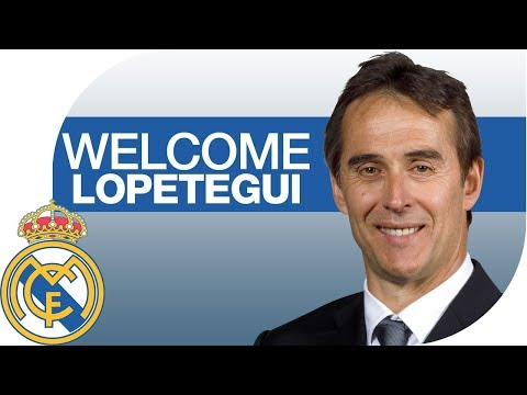 Full Stream | JULEN LOPETEGUI's REAL MADRID Presentation