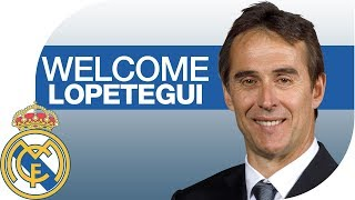 Julen Lopetegui PRESENTATION | NEW Real Madrid COACH