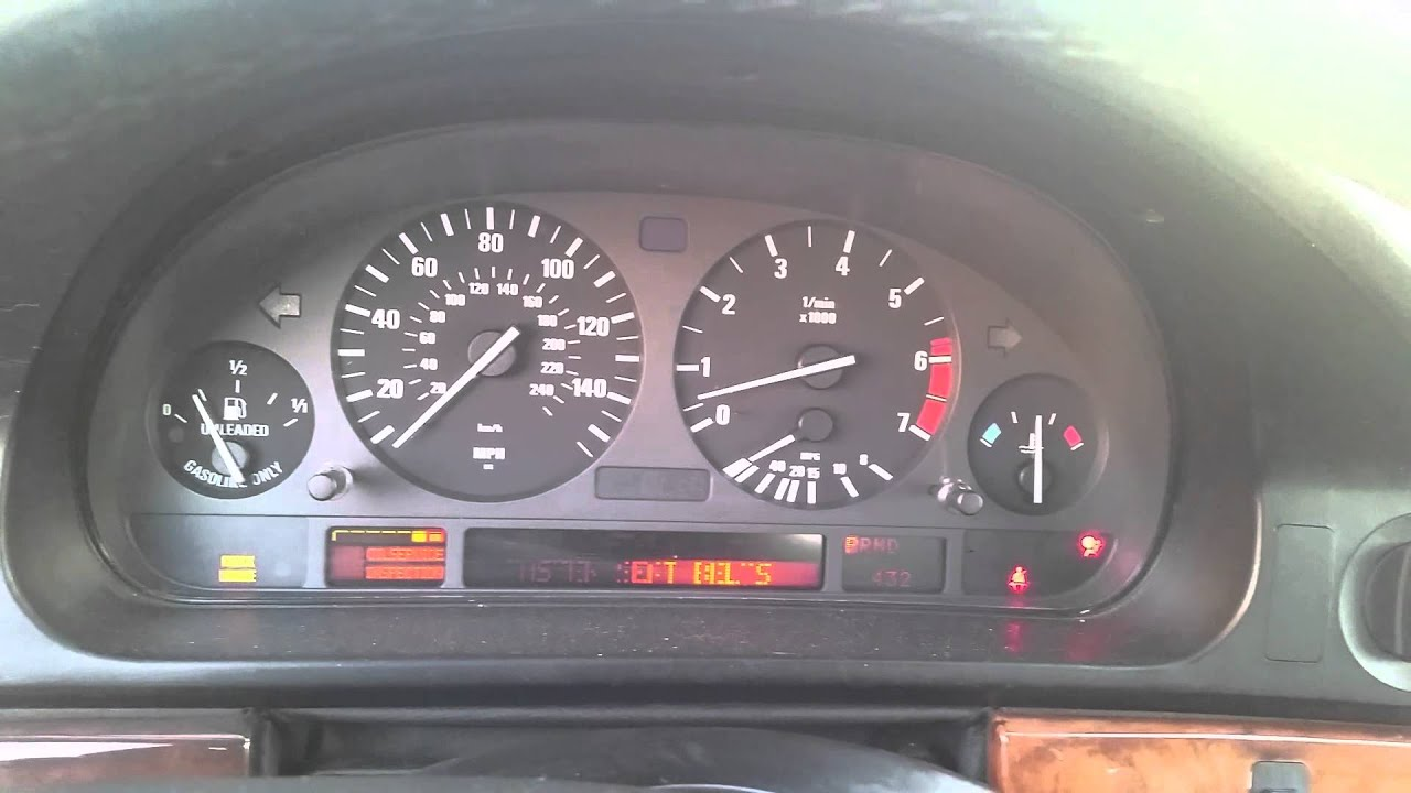 97u0027 Bmw 540i, Flashing Check Engine Light