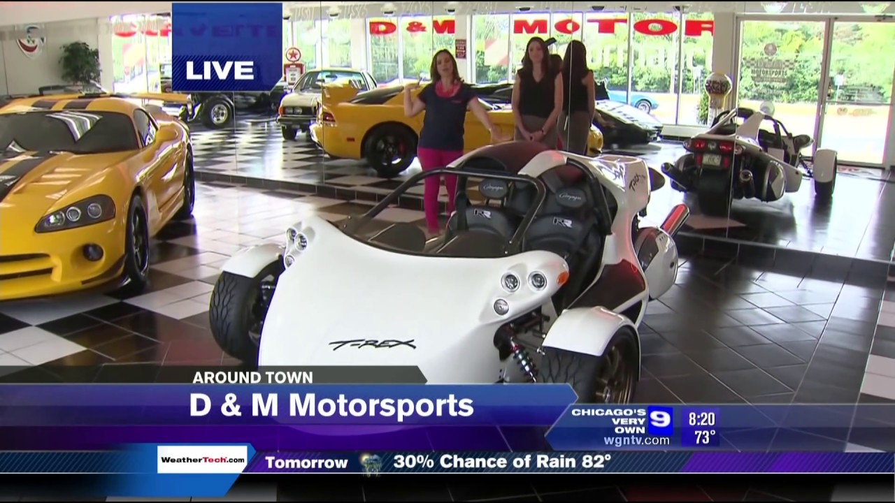 D&M Motorsports on Chicago's WGN Morning News - YouTube