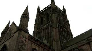 End of a peal at Worcester Cathedral