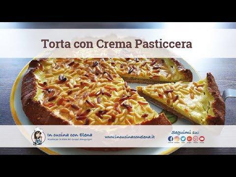 In cucina con elena videolezione di cucina crostata alla crema pasticcera youtube - In cucina con elena ...
