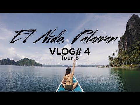 GoPro Travel Vlog#4 - El Nido, Palawan (Tour B)
