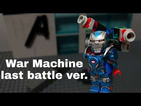 Lego War Machine Last Battle Ver From Avengers Endgame Moc Youtube
