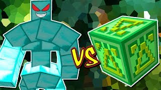 GOLEM DE DIAMANTE VS. LUCKY BLOCK DELTA (MINECRAFT LUCKY BLOCK CHALLENGE)