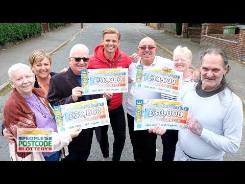 #StreetPrize Winners - NG5 6EN In Nottingham On 12/05/2019 - People's Postcode Lottery