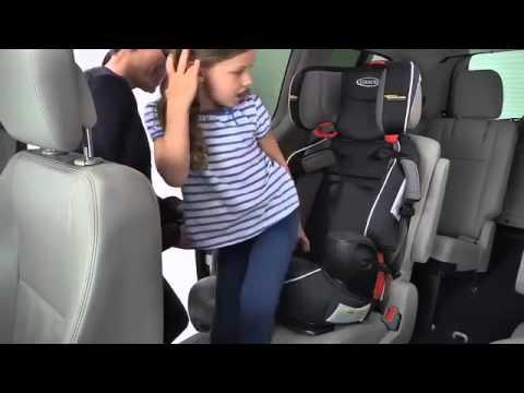 Graco Nautilus with Safety Surround Car Seat Installation mp4 - YouTube
