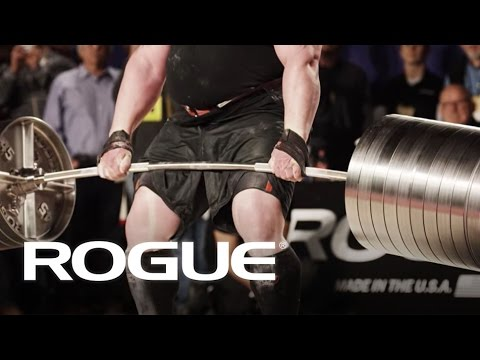 The Rogue Elephant Bar Deadlift — 2016 Arnold Strongman Classic