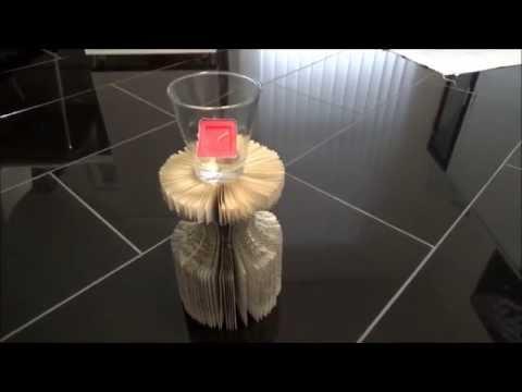 weihnachtsbaum aus einem buch schneiden und falten 21 1 doovi. Black Bedroom Furniture Sets. Home Design Ideas