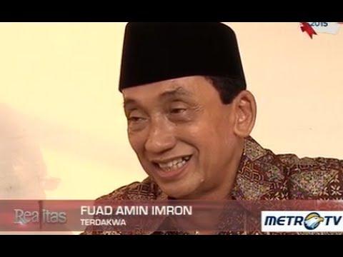 Terdakwa Pencucian Uang Mantan Bupati Bangkalan, Fuad Amin Imron Sangat Santai Hadapi Pengadilan.