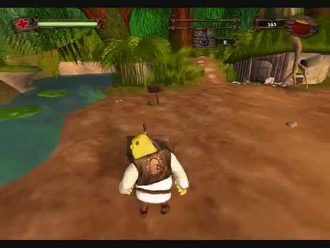 Shrek 2 Game Cheating Secrets Of Shrek S Swamp Youtube