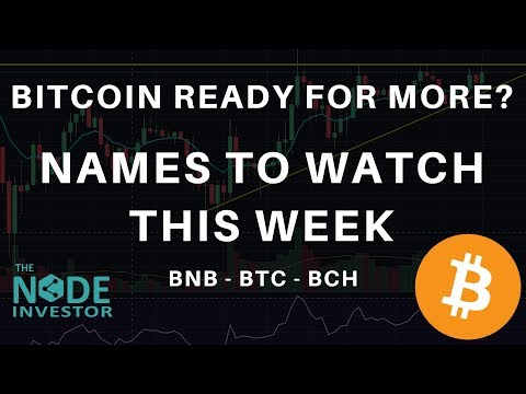 Bitcoin Ready For Another Run or Pullback First?  Names to Watch This Week