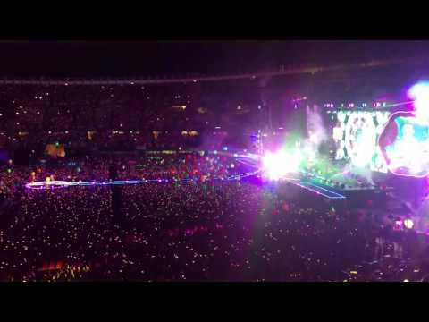 Coldplay - Adventure of a Lifetime (live) @ Happel Stadion, Vienna 2017