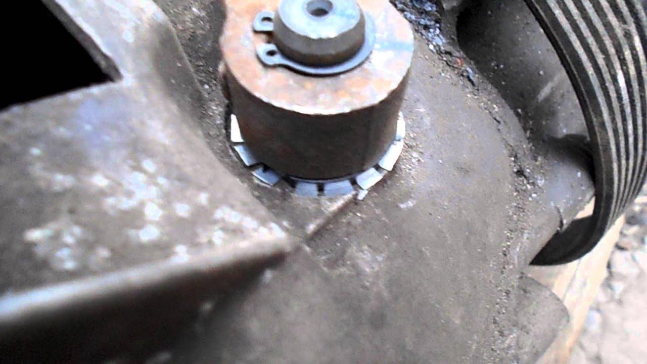 как поменять шток на вилке фиат альбеа