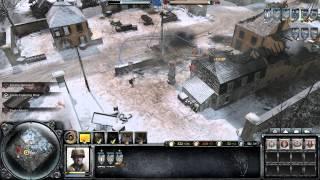 Company of Heroes 2 - US Forces vs German Oberkommando West Hard AI