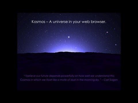 Kosmos: A Virtual 3D Universe
