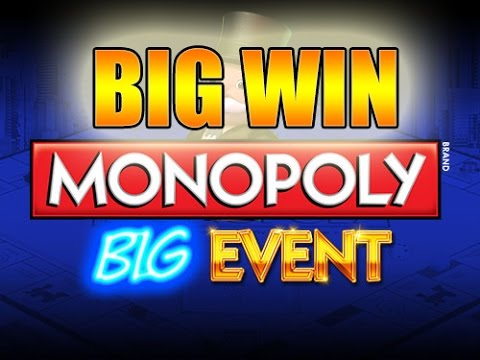 Online slots HUGE WIN 20 euro bet - Monopoly Big Event BIG WIN