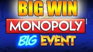 Online slots HUGE WIN 20 euro bet - Monopoly Big Event BIG WIN