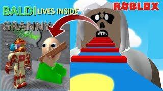 😱 ESCAPE BALDI + GRANNY OBBY DOUBLE CHALLENGE!! | The Weird Side of Roblox: Baldi Granny Obby