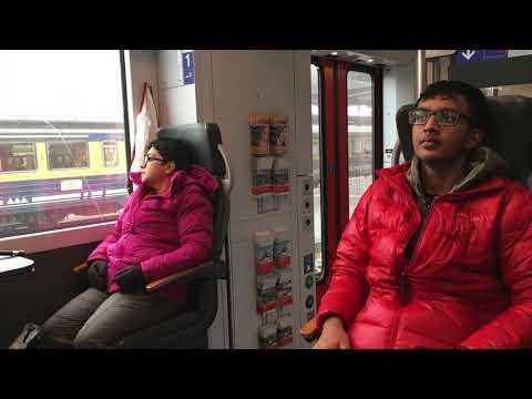 Golden Pass Panoromic Train 1st class , Montreux   to Luzern Via Interlaken ,Switzerland
