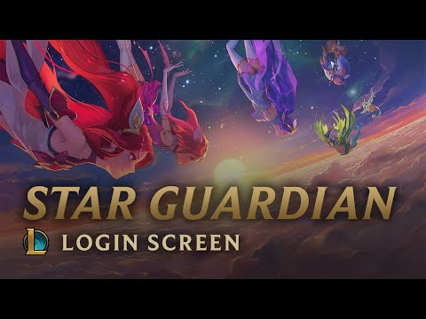 Thumbnail: Star Guardians: Burning Bright | Login Screen - League of Legends