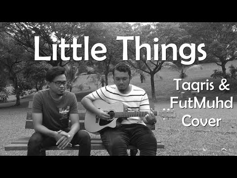 Little Things - One Direction Cover | Taqris (Black and White)