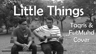 Video Little Things - One Direction (Cover) | Taqris (Black and White) download MP3, 3GP, MP4, WEBM, AVI, FLV Juli 2018