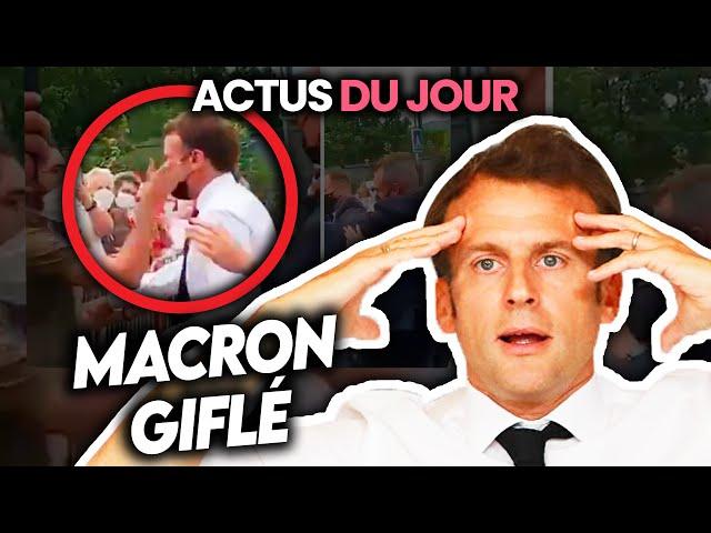 Fin de masque envisagée, Macron gℹ️ flé, déconfinement demain, couvre-feu à 23h... Actus du jour