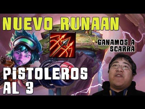 TEAMFIGHT TACTICS | Nuevo Runaan!! Jugando contra Scarra