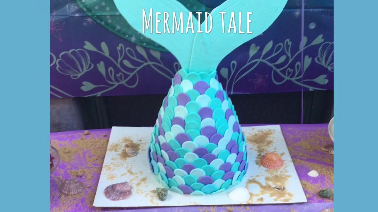 Diy Mermaid Tail Cake Home Design