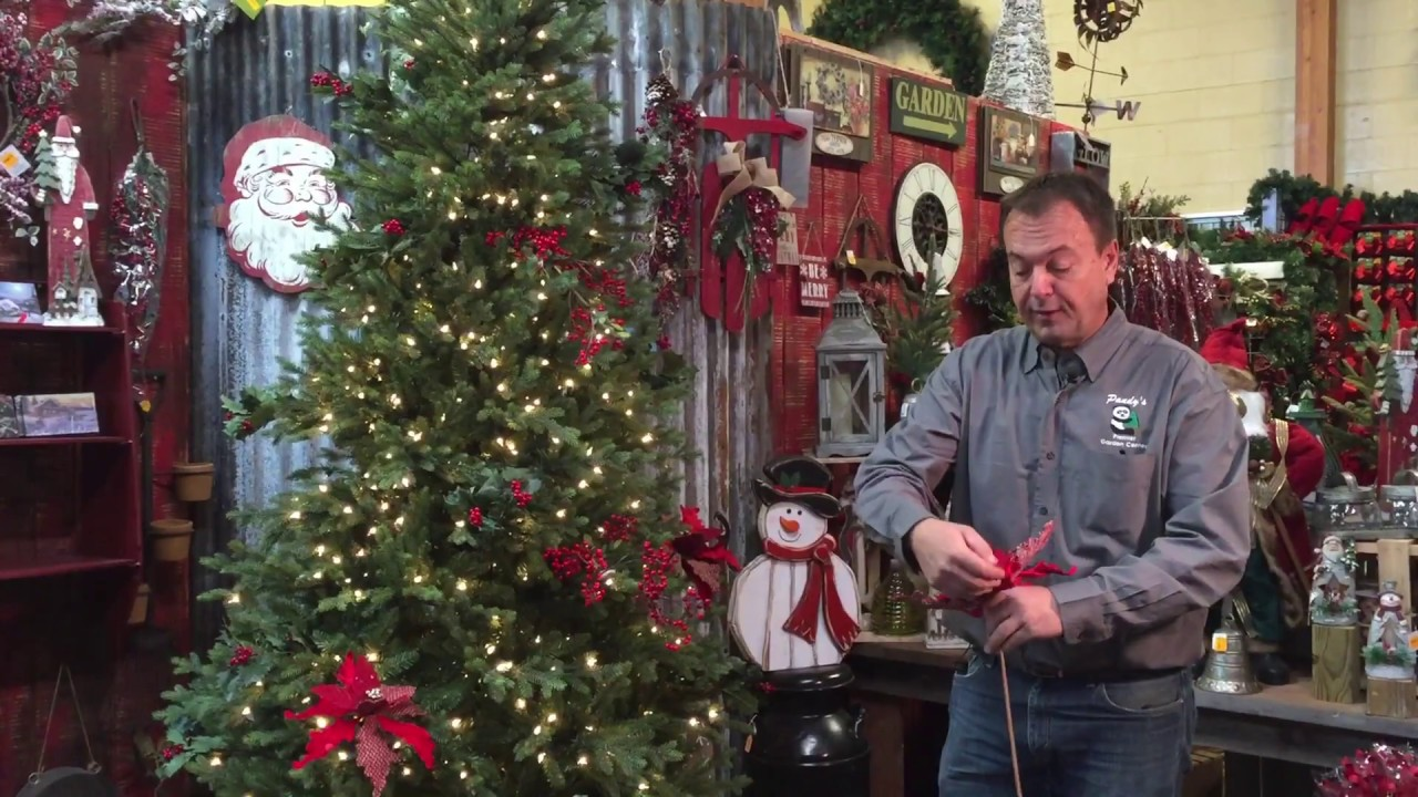 How to professionally decorate your tree youtube for Pandy s garden center