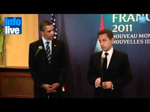 "Sarkozy considers Netanyahu a ""Liar"""