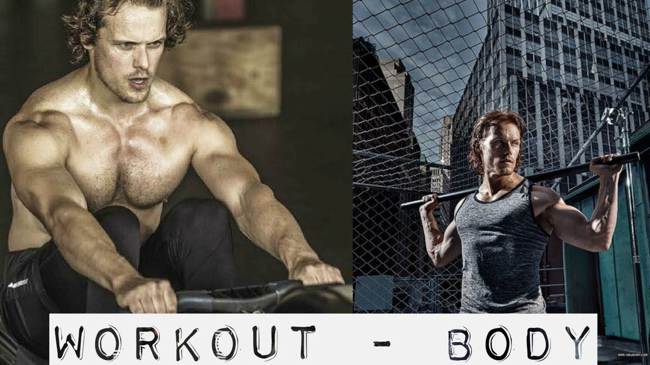 Sam Heughan Workout Body