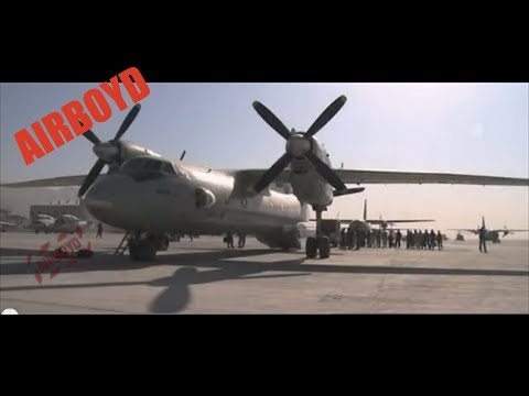 Antonov An-32 Takeoff (2010)