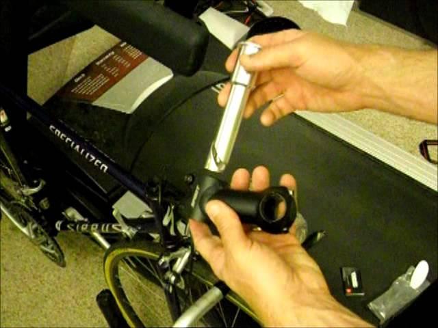 Deda Road Bike Quill to Ahead Handlebar Stem Adapter  22.2mm to 25.4mm v