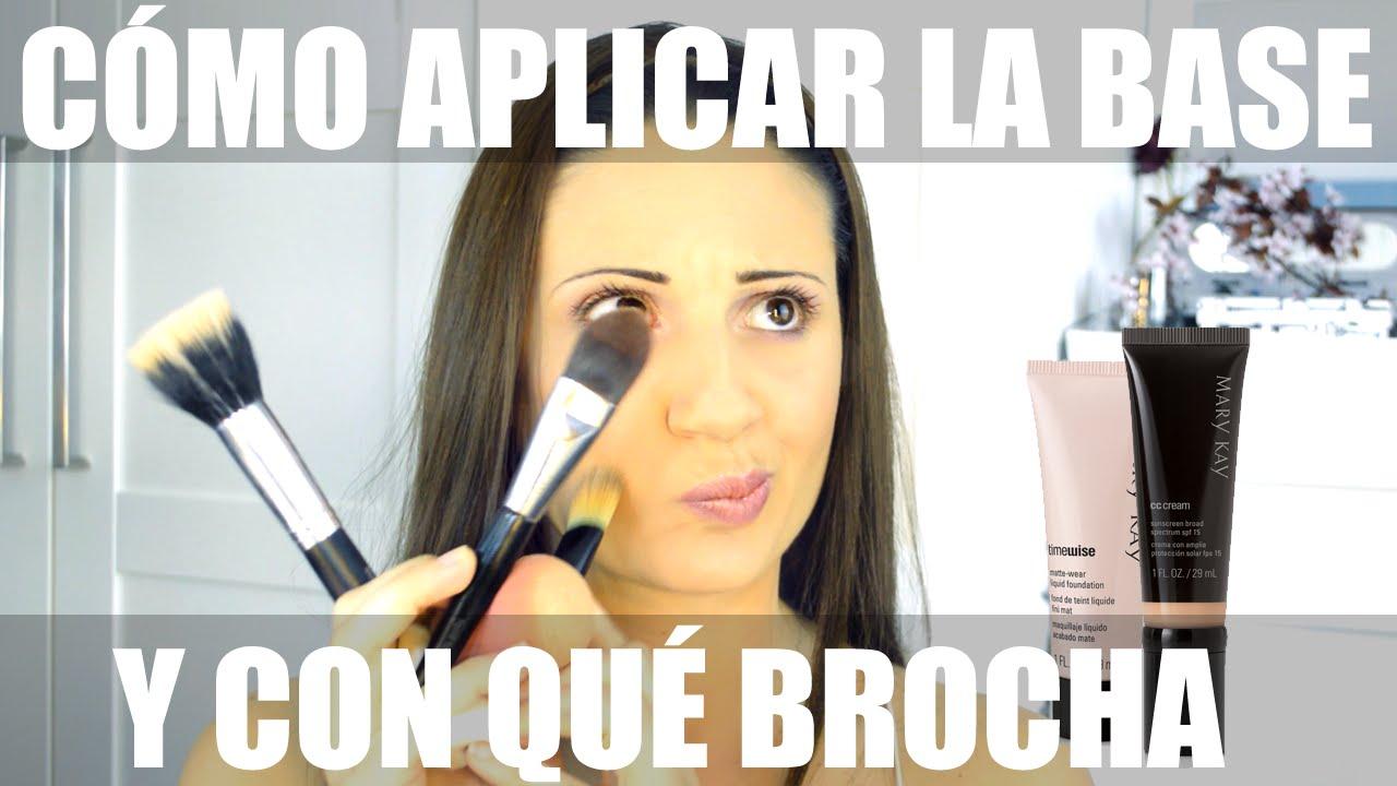 BEAUTY TIP Consejos de cómo aplicar la base de maquillaje y con qué ...