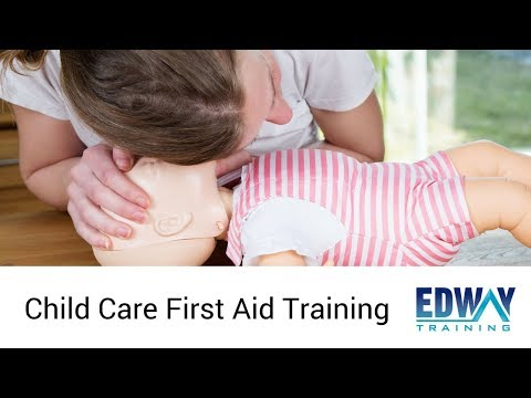 Child Care First Aid Training Course | Edway Training Sydney
