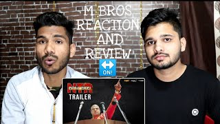 M Bros Reaction And ReviewNTR Mahanayakudu Official Trailer | Nandamuri Balakrishna, Rana Daggubati